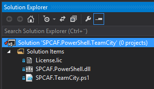 Integrate SharePoint Code Analysis Framework (SPCAF) in your