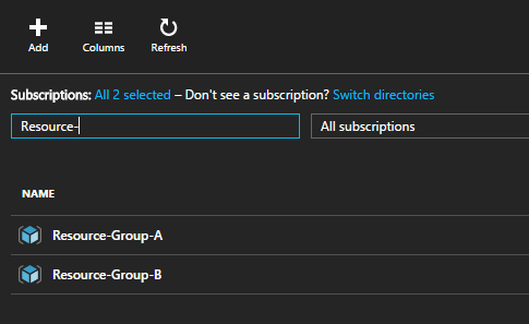 Moving Azure Resources between Resource Groups using REST