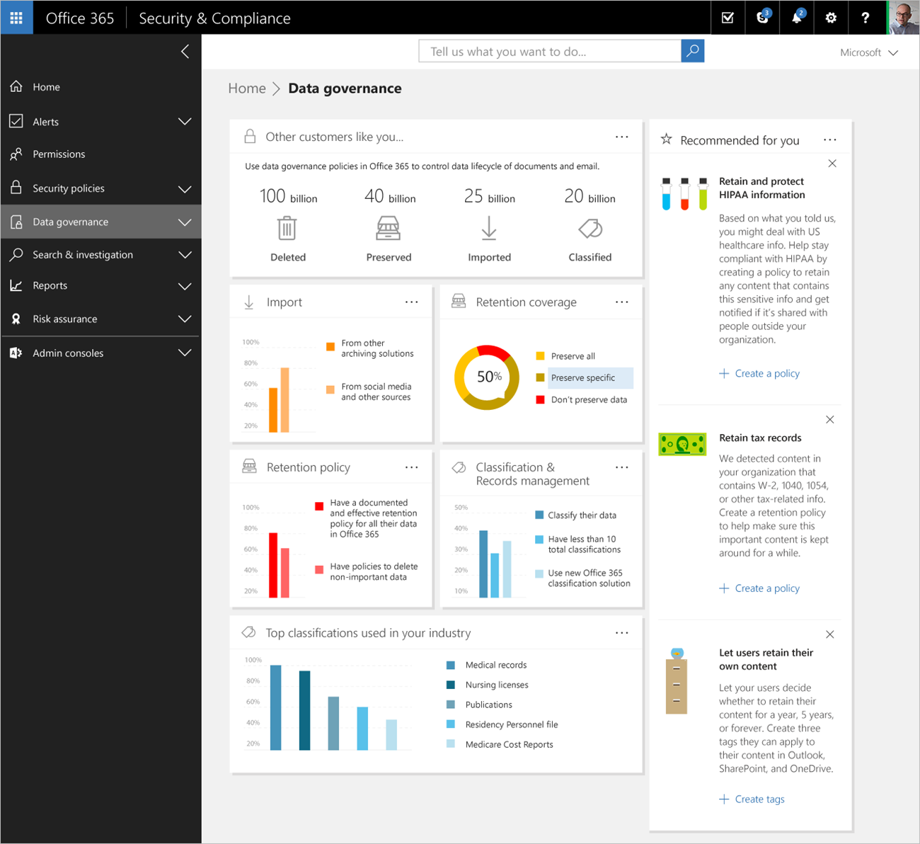 Office 365 Security Center
