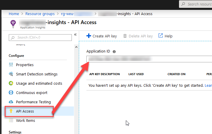 Retrieve logs from Application Insights programmatically with  NET