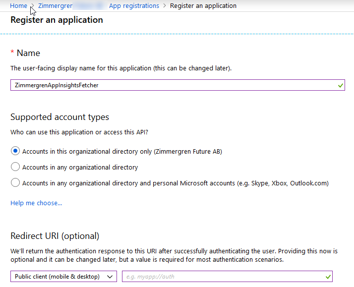 Retrieve logs from Application Insights programmatically