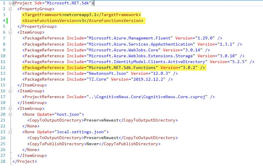 "Issues with ""Cannot bind parameter 'log' to type ILogger."" after upgrading Azure Functions to v3"