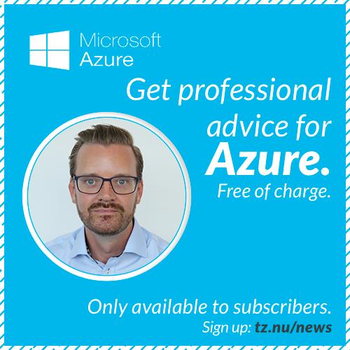 Giving away Azure advice
