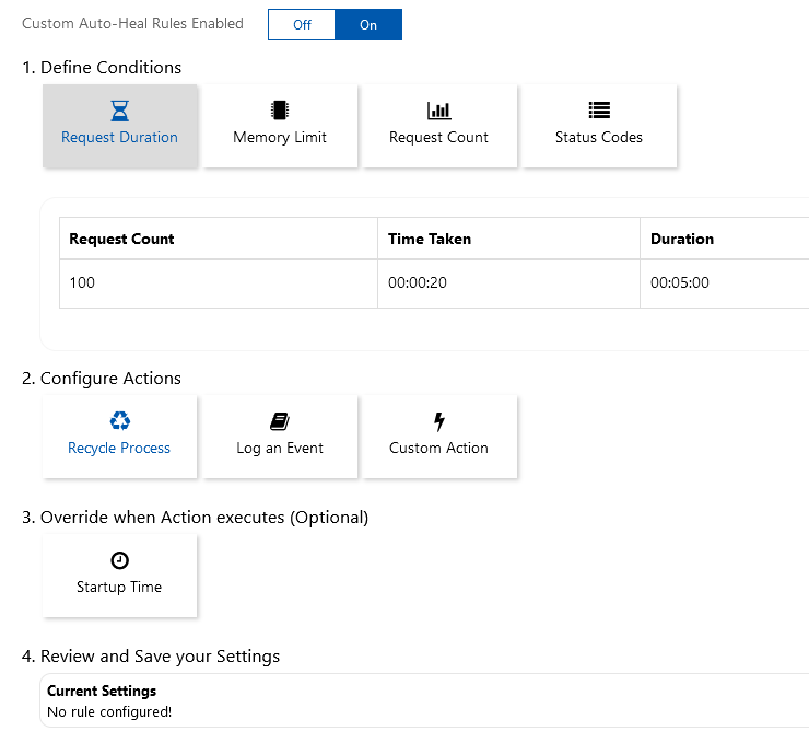 Azure App Service tips: Increase reliability with the Auto-Healing features