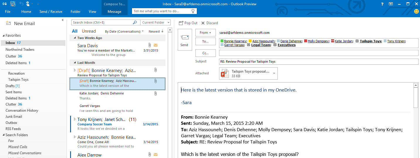 Microsoft Office 2016 reaches Public Preview for Home/Consumer and Enterprise