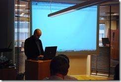 Tony Restaino presenting SPVisualDev