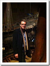 Tobias Zimmergren at the Vasa Museum