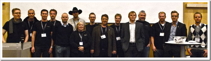 All the speakers at SEF 2010