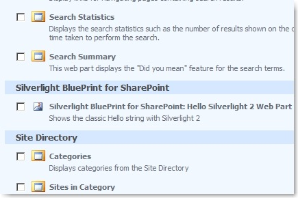 Add the Silverlight WebPart to your SharePoint page